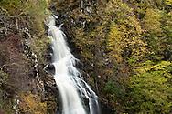 Divach Falls, Glen Urquhart, Drumnadrochit, Scottish Highlands, Uk