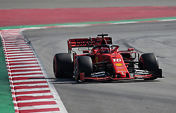 February 28, 2019 - Barcelona, Catalonia, Spain - the Ferrari of Charles Leclerc during the Formula 1 test in Barcelona, on 28th February 2019, in Barcelona, Spain. (Credit Image: © Joan Valls/NurPhoto via ZUMA Press)