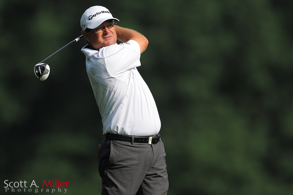 Gavin Coles during the third round of the Wells Fargo Championship at the Quail Hollow Club on May 5, 2012 in Charlotte, N.C. ..©2012 Scott A. Miller.