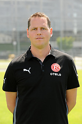 03.07.2014, ESPRIT arena, Duesseldorf, GER, 2. FBL, Mannschaftsfototermin Fortuna Duesseldorf, im Bild Mentaltrainer Axel Zehle ( Fortuna Duesseldorf / Portrait ) // during a Photo Shoot of German 2nd Bundesliga Club Fortuna Duesseldorf at the ESPRIT arena in Duesseldorf, Germany on 2014/07/03. EXPA Pictures © 2014, PhotoCredit: EXPA/ Eibner-Pressefoto/ Thienel<br /> <br /> *****ATTENTION - OUT of GER*****