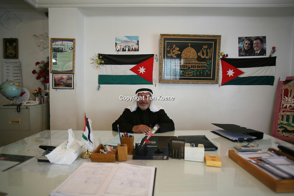 The director of a school in Amman,jordan