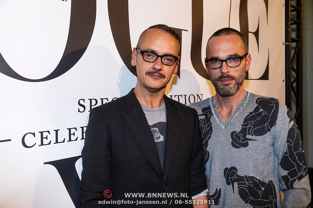 NLD/Amsterdam/20130110 - 20 Years of Viktor & Rolf - Vogue, Viktor & Rolf