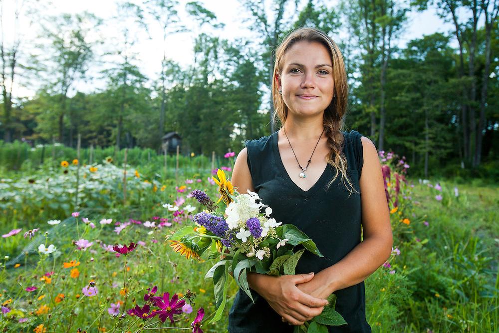 Emily Hennely, Organic farmer