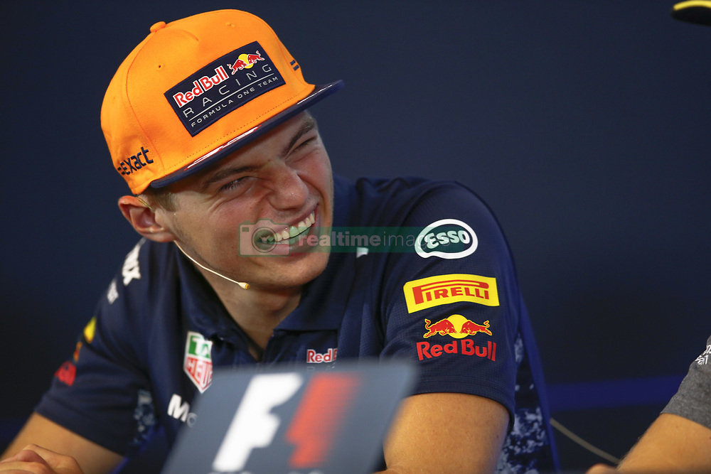 August 24, 2017 - Spa-Francorchamps, Belgium - Motorsports: FIA Formula One World Championship 2017, Grand Prix of Belgium, ..#33 Max Verstappen (NLD, Red Bull Racing) (Credit Image: © Hoch Zwei via ZUMA Wire)