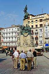 Monument to the Battle of Vitoria, in Vitoria Gasteiz, Spain<br /> <br /> (c) Andrew Wilson | Edinburgh Elite media