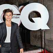 Oliver Cheshire Arrivers at GQ 30th Anniversary celebration at Sushisamba, The Market, Convent Garden on 29 October 2018.