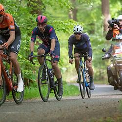 04-05-2019: Wielrennen: Ronde van Overijssel: Rijssen<br />Leaders in the final