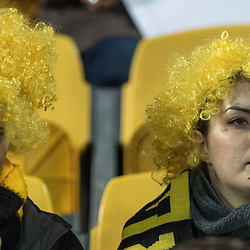 Hurricanes Fans during game 8 of the British and Irish Lions 2017 Tour of New Zealand,The match between  Hurricanes and British and Irish Lions, Westpac Stadium, Wellington, Tuesday 27th June 2017<br /> (Photo by Kevin Booth Steve Haag Sports)<br /> <br /> Images for social media must have consent from Steve Haag