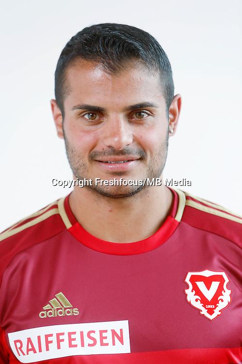 22.06.2015; Vaduz; Fussball Super League - FC Vaduz Portrait; Diego Ciccone (Vaduz)<br /> (Eddy Risch/freshfocus)