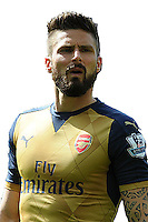 SUNDERLAND, ENGLAND - APRIL 24:  Olivier Giroud of Arsenal during the Barclays Premier League match between Sunderland and Arsenal at The Stadium of Light on April 24th in Sunderland, England  (Photo by David Price/Arsenal FC via Getty Images)