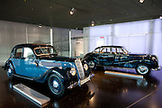 BMW 335 1939 model car on display  at the BMW Museum and Headquarters in Munich, Bavaria, Germany
