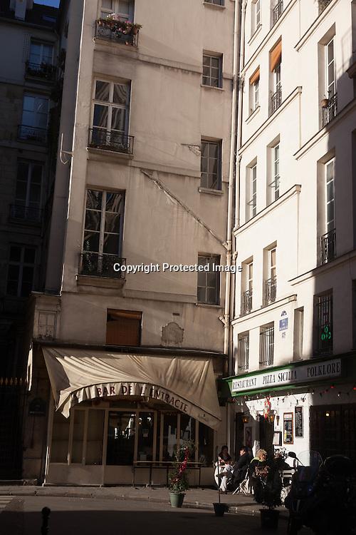 France. Paris 1st district. palais royal area