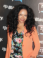 Kanya King was attending Blackberry's BBM Event - a celebration of the smartphone's free instant messaging app. The Bankside Vaults, London, UK. April 03, 2012. (Photo by Brett Cove)