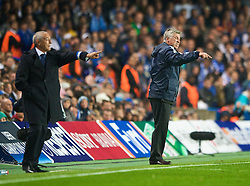 LONDON, ENGLAND - TUESDAY, SEPTEMBER 15th, 2009: Chelsea manager Carlo Ancelotti during the UEFA Champions League Group D match at Stamford Bridge. (Photo by Chris Brunskill/Propaganda)