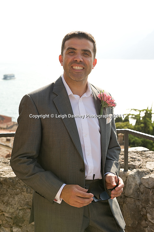 Photographs from the Mark & Jo Gerrard's wedding in Lake Garda, Italy on 24th August 2012. © Photos: Leigh Dawney 2012