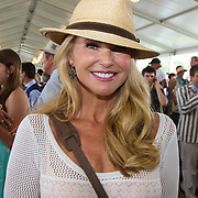 Christie Brinkley at the Hampton Classic Horse Show