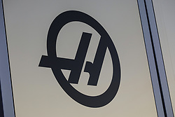 February 18, 2019 - Barcelona, Barcelona, Spain - Rich Energy Haas F1 Team logo during the Formula 1 2019 Pre-Season Tests at Circuit de Barcelona - Catalunya in Montmelo, Spain on February 18. (Credit Image: © Xavier Bonilla/NurPhoto via ZUMA Press)