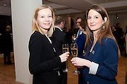JOCELYN PHILLIPS; ALEXANDRA HEFFLERBonhams Auction house hosts festive drinks to preview the first phase of the reconstruction of its Mayfair Headquarters - due for completion in 2013.<br /> Bonhams, 101 New Bond Street, London, 19 December 2011.