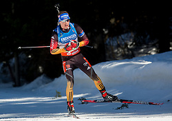 SCHEMPP Simon of Germany competes during Men 12.5 km Mass Start competition of the e.on IBU Biathlon World Cup on Sunday, March 9, 2014 in Pokljuka, Slovenia. Photo by Vid Ponikvar / Sportida