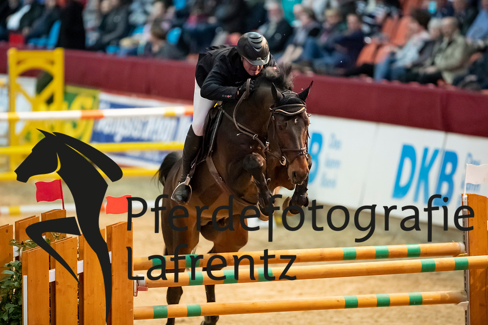 DRAIN Conor (IRL), Con Capitano<br /> Neustadt-Dosse - CSI 2019<br /> 2. Qualifikation Youngster Tour für 7 und 8 jährige Pferde<br /> 11. Januar 2019<br /> © www.sportfotos-lafrentz.de/Stefan Lafrentz