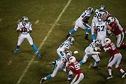January 24, 2016: Carolina Panthers vs Arizona Cardinals. Cam Newton