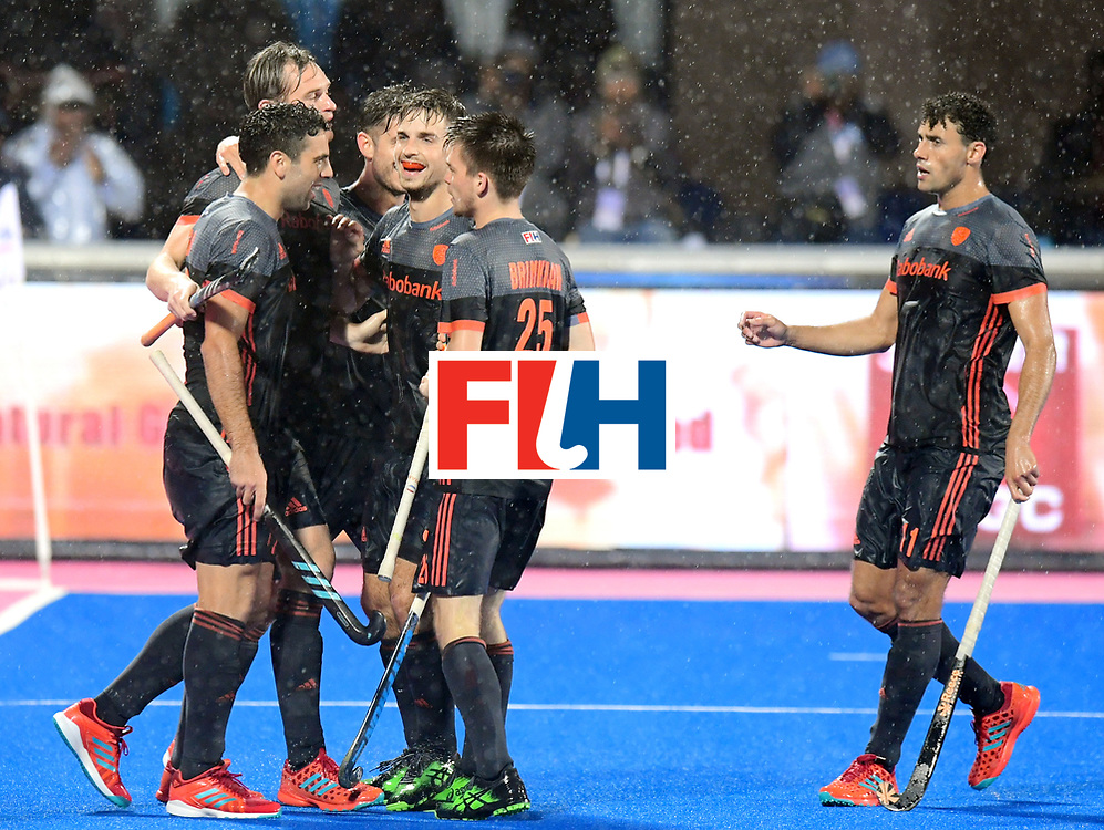 Odisha Men's Hockey World League Final Bhubaneswar 2017<br /> Match id:17<br /> England v Netherlands<br /> Foto: Mirco Pruijser (Ned) scored 0-1 for the Netherlands<br /> COPYRIGHT WORLDSPORTPICS FRANK UIJLENBROEK