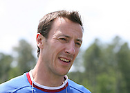 Team trainer Pierre Barrieu on Wednesday, May 17th, 2006 at SAS Soccer Park in Cary, North Carolina. The United States Men's National Soccer Team held a training session as part of their preparations for the upcoming 2006 FIFA World Cup Finals being held in Germany.
