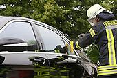 Übung der Freiwilligen Feuerwehr Ludwigshafen