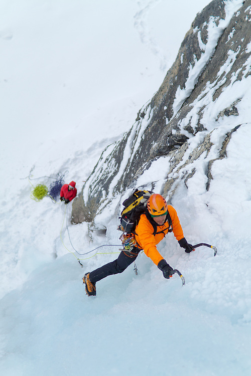 Ice Climbing Shades of Beauty - Alberta
