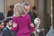 Alicia Koplowitz, Aberto Ruiz Gallardon attends the Delivery of the National Research Awards 2019 at Palacio Real de El Pardo on February 17, 2020 in Madrid, Spain