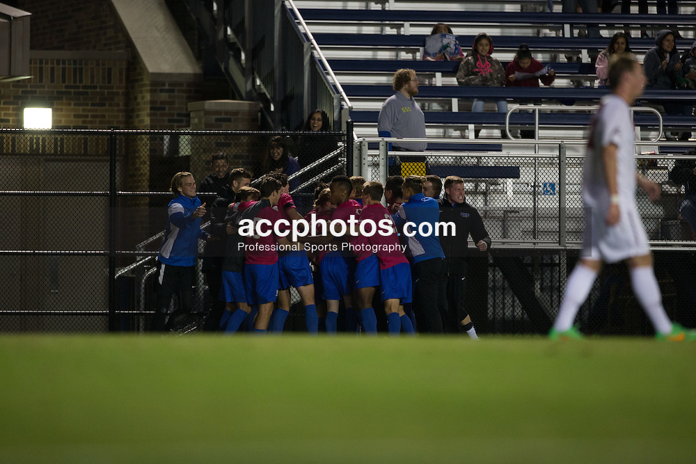 2015 October 30: Duke Blue Devils during a 2-1 win over the Virginia Tech Hokies at Koskinen Stadium in Durham, NC.