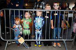 Season ticket holders and members of Bristol Sport 7s and Forever Bristol take part in a Bristol Sport Halloween Event - Mandatory byline: Rogan Thomson/JMP - 07966 386802 - 29/10/2015 - SPORT - Ashton Gate Stadium - Bristol, England - Bristol Sport Halloween at Ashton Gate.