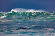 Waimea Bay, North Shore, Oahu, Hawaii