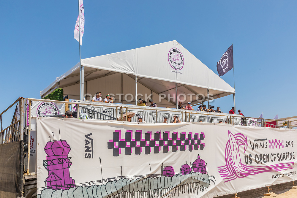 Spectators Booth at the Vans US Open of Surfing