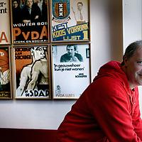 Nederland, Amsterdam , 23 april 2013..(Hans) Spekman  is vanaf 22 januari 2012 de partijvoorzitter van de Partij van de Arbeid. Daarvoor was hij vanaf 2006 namens die partij lid van de Tweede Kamer. Ook is hij wethouder in de gemeente Utrecht geweest..Foto:Jean-Pierre Jans