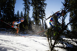 Simon Schempp (GER) during Men 15 km Mass Start at day 4 of IBU Biathlon World Cup 2015/16 Pokljuka, on December 20, 2015 in Rudno polje, Pokljuka, Slovenia. Photo by Ziga Zupan / Sportida