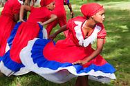 Dancers in Biran, Holguin, Cuba.