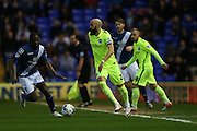 Brighton defender, Bruno Saltor (2) during the Sky Bet Championship match between Birmingham City and Brighton and Hove Albion at St Andrews, Birmingham, England on 5 April 2016.