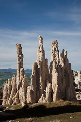 """Tufas at Mono Lake 2"" - These tufas were photographed at the South Tufa area in Mono Lake, California."