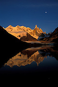 Cerro Torre at dawn, Los Glaciares National Park, Patagonia