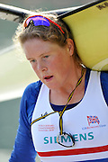 Caversham. United Kingdom; Frances HOUGHTON early morning training session before the GBR Rowing, 2010 World Championship Team Announcement at the GB rowing Training Base. Nr Reading Berks on Tuesday,  21/09/2010[Mandatory Credit Peter Spurrier/ Intersport Images],