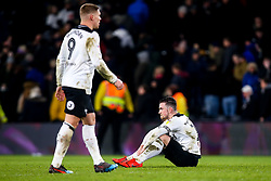 Jack Marriott of Derby County and Martyn Waghorn of Derby County cut dejected figures - Mandatory by-line: Robbie Stephenson/JMP - 20/02/2019 - FOOTBALL - Pride Park Stadium - Derby, England - Derby County v Millwall - Sky Bet Championship