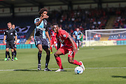 David Tutonda during the Sky Bet League 2 match between Wycombe Wanderers and York City at Adams Park, High Wycombe, England on 8 August 2015. Photo by Simon Davies.