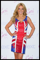 Geri Halliwell launches her new Union Jack collection  for  Next  in London, Thursday, 2nd February 2012. Photo by: i-Images