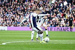 March 9, 2019 - West Bromwich, England, United Kingdom - Stefan Johansen of West Bromwich Albion free kick to score his sides first goal   during the Sky Bet Championship match between West Bromwich Albion and Ipswich Town at The Hawthorns, West Bromwich on Saturday 9th March 2019. (Credit Image: © Leila Coker/NurPhoto via ZUMA Press)