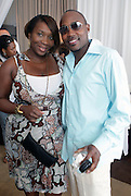 l to r: Bevy Smith and Will Packer at The ABFF Luncheon Hosted by HSBC and Rush Philanthropic Arts held at The Delano in Miami Beach on June 27, 2009..The American Black Film Festival is an industry retreat and competitve marketplace for films and by and about people of color.
