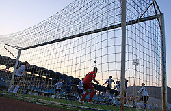 Behind the goal during 2nd match of 1st round Intertoto Cup soccer match between ND Gorica and Hibernians FC at Sports park, on June 28,2008, in Nova Gorica, Slovenia. (Photo by Vid Ponikvar / Sportal Images)