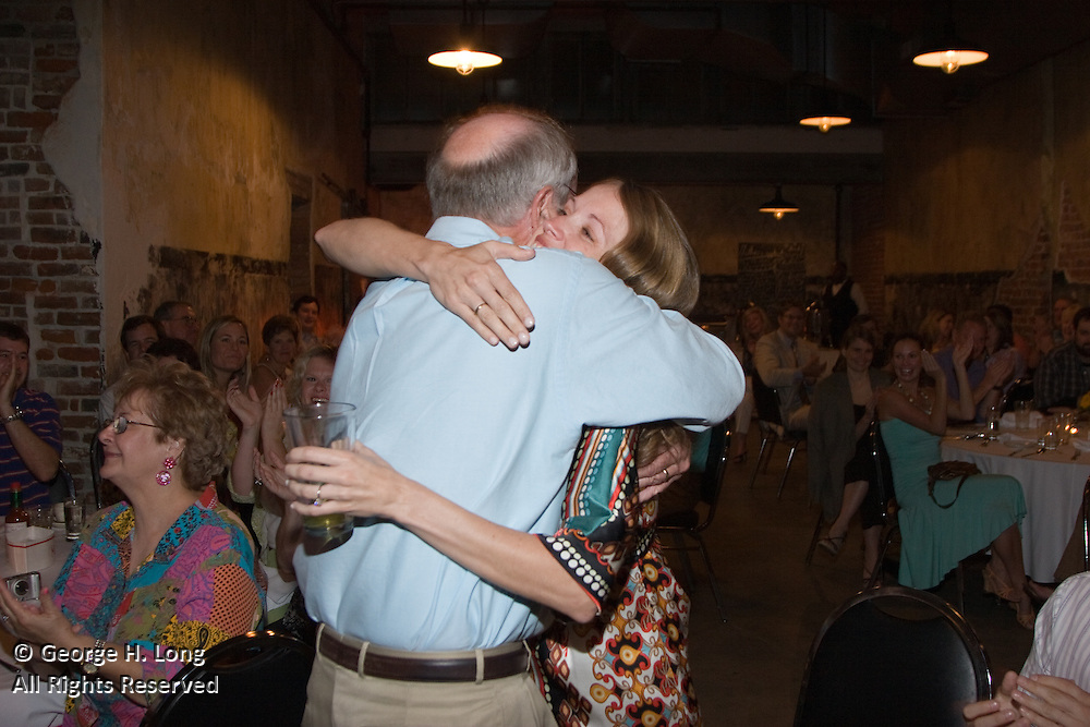 Wedding rehearsal dinner for Katherine Slingluff and Andy Stuckey at Mother's Next Door in New Orleans on July 28, 2006