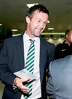 29/07/14   <br /> GLASGOW AIRPORT<br /> Celtic manager Ronny Deila