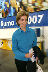 A candidata ao governo do Estado do RS, Yeda Crusius (PSDB) chega na sede do partido para reunião com conselho politico. FOTO: Jefferson Bernardes/Preview.com